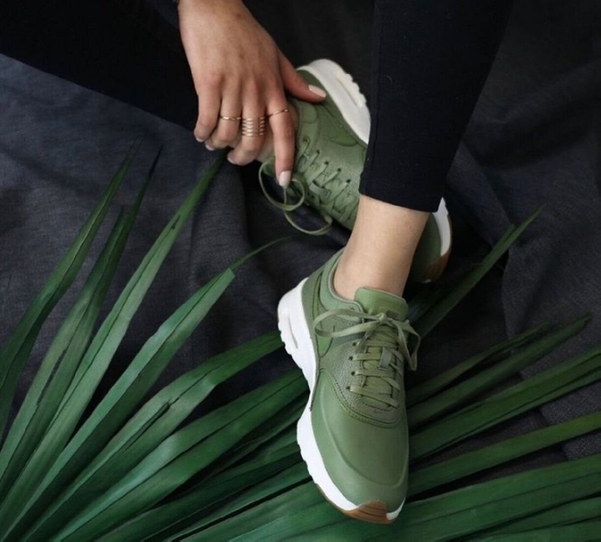 Nike Air Max THEA Women's Lifestyle Comfort Shoes  Palm Green Palm Green/Palm Green/Legion G...