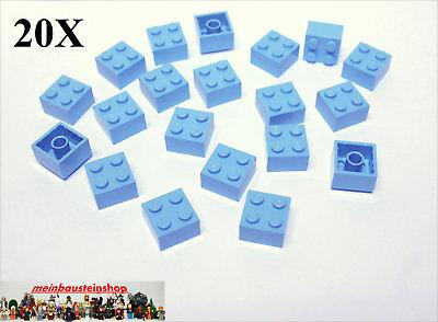 20X Lego® 3003 Basic Steine Bricks 2X2 Rot Red NEU