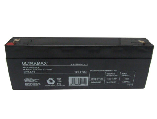 ADE Honeywell uc1221 12V 2.1 ah 2.3 ah batterie panneau d/'alarme
