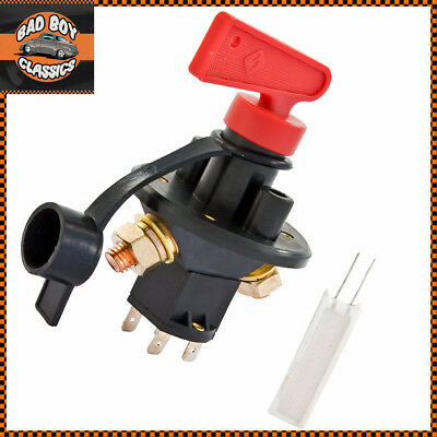 Rally FIA Compliant Master Battery Isolator Cut Out//Off Kill Switch  Racing