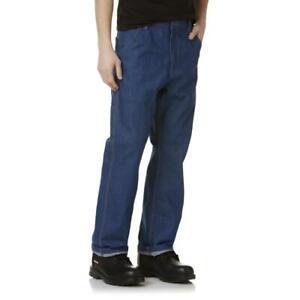 "DieHard Big Men/""s Carpenter Duck Pants Relaxed Fit w// Teflon Fabric Olive NWT"