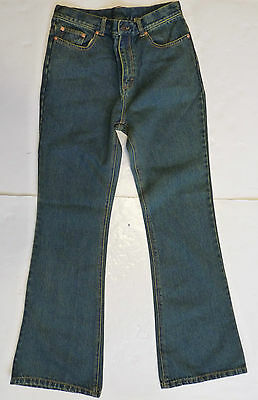SALE! NEW MENS RETRO 60s 70s MOD INDIE FLARED DENIM JEANS FLARES DIRTY DEMIN k35