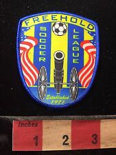 Freehold Soccer League Patch - Cannon Shooting Soccerball S74R