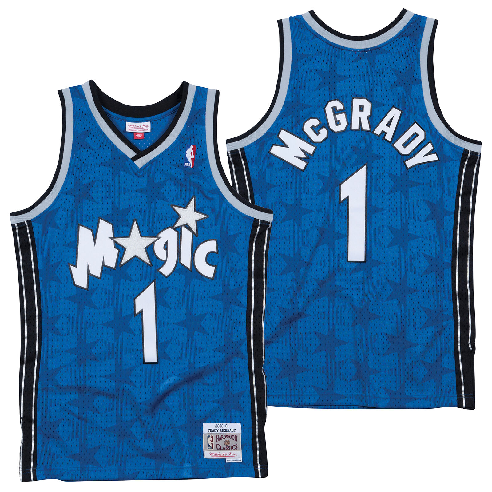 NBA Orlando Magic Tracy McGrady Hardwood Classics Basketball Trikot Shirt Herren