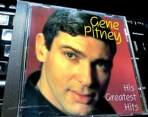 His-Greatest-Hits-by-Gene-Pitney-CD-1993-Charly-UK-teen-idol-rockabilly