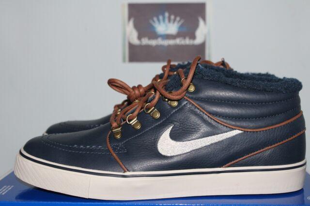 cheaper 02549 9a0f6 Nike Zoom Stefan Janoski Mid SB Dark Obsidian   Birch 8.5