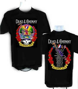 3892849ea1d Image is loading Dead-and-Company-2019-Summer-Tour-t-shirt-