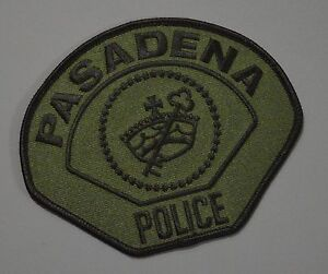 LOS ANGELES CALIFORNIA CA subdued AIRPORT POLICE PATCH