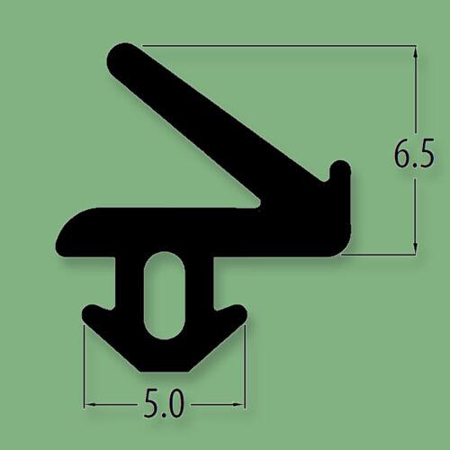 Various Lengths seal Black UPVC window and door FLIPPER gasket R6381X rubber