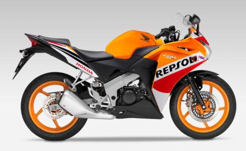 CBR 125 R Repsol 15-16 Frontverkleidung NEU Upper Fairing NEW ...