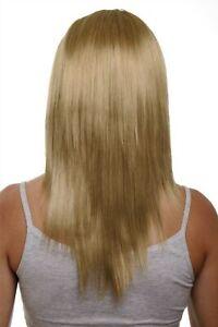 Clip-In-Postiche-5-Attache-3-4-Perruque-Hell-Aschblond-Blond-Env-50cm