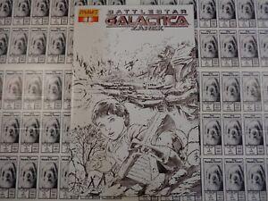 Battlestar-Galactica-Zarek-2006-Dynamite-4-Batista-Sketch-Variant-CVR-NM