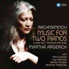 Rachmaninov Music for 2 Pianos 0825646235940 Martha Argerich