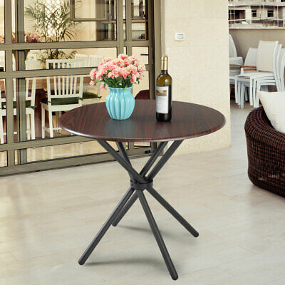 ∅32 Round Dining Table 4 Legs Stand Desk Kitchen Furniture Living Room in  Modern 6971888429686 | eBay