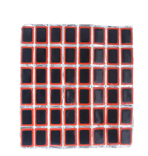48 Weldtite Rubber Puncture Patches Bicycle Bike Tire Tyre Tube Maintenance Tool