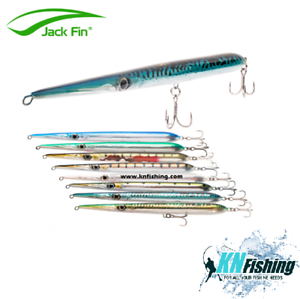 JACK FIN Saltwater Handmade Topwater Pencil Lure STYLO 240