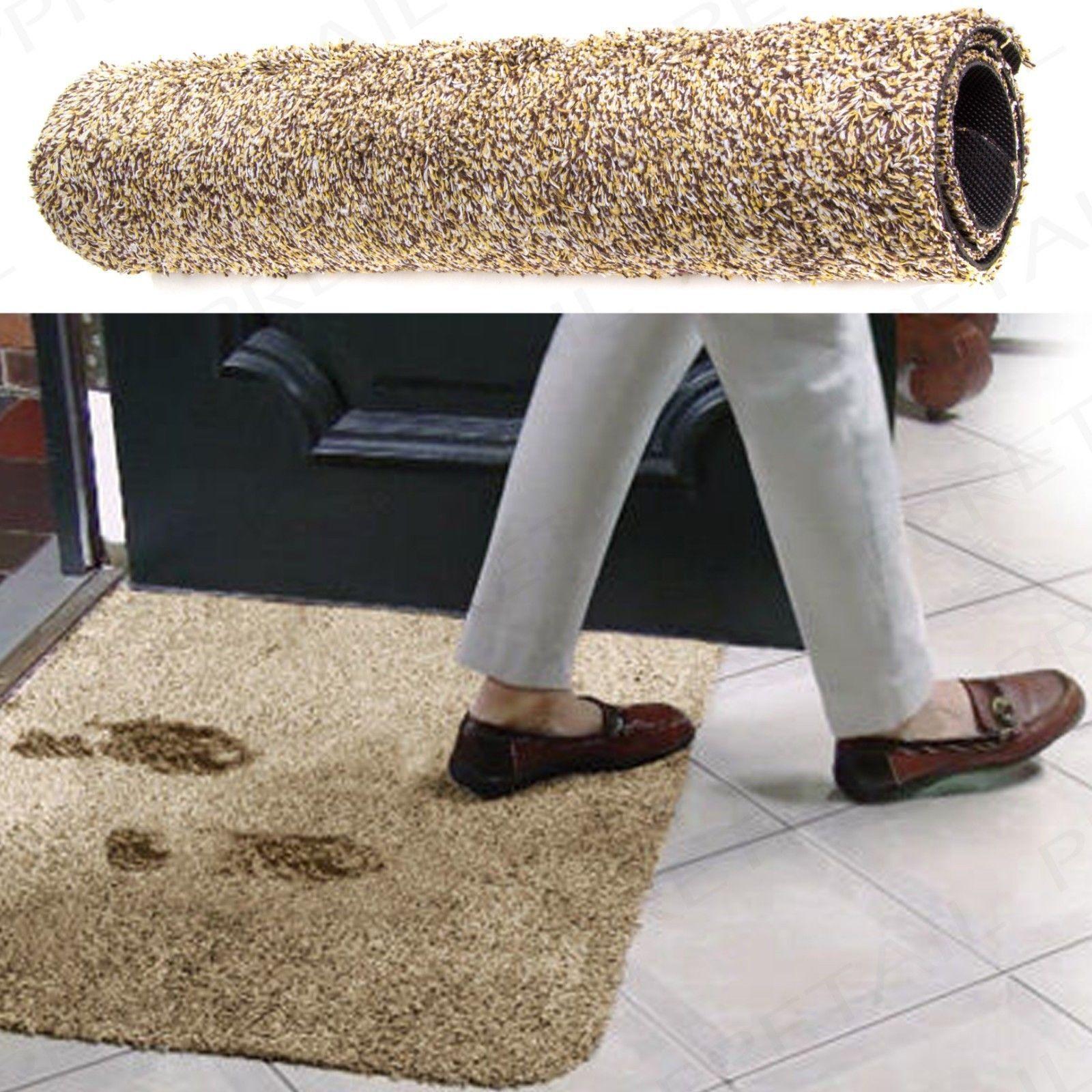 Super Absorbant Magic Tapis De Porte Paillasson Lavable intérieur coton Clean Step Home NEUF
