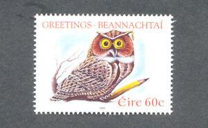 Irlande-owl-salutations Valeur Unique Neuf Sans Charnière-oiseaux - 1719 2005-eetings Single Value Mnh - Birds- 1719 2005fr-fr Afficher Le Titre D'origine Volume Large