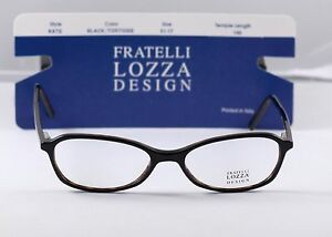 cc96dcef06f Lot of 10 New Fratelli Lozza Frames Made Italy Kate Black Tortoise ...
