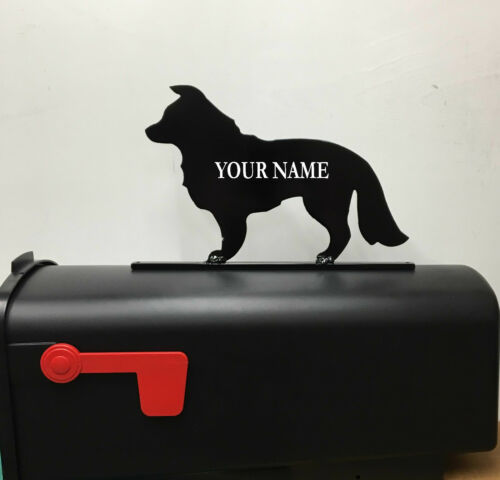 BORDER COLLIE MAILBOX TOPPER MB18