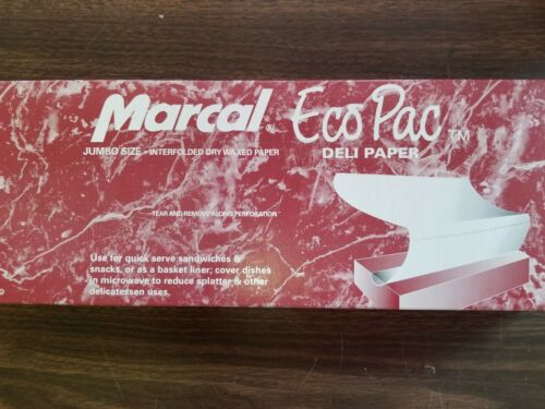 """15/"""" x 10.75/"""" MARCAL DELI PAPER// POP UP SHEET//USA MADE//PRIORITY SHIP 500 SHEETS"""