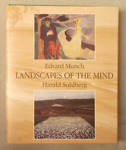 EDVARD MUNCH & HARALD SOHLBERG by Bjerke LANDSCAPES OF THE MIND  COLOR PLATES