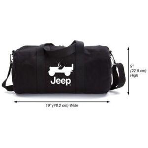 Canvas Cj Jeep un sourire Bag Prenez Duffel Et Durable Heavy 4LRj5A