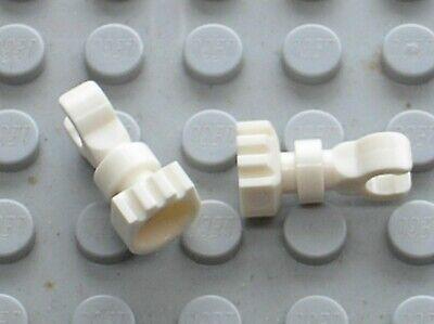 2 X Lego Minifig Skeleton Leg 6266 / Set 5986 8813 6079 6091 6046 6098 6097 5988 Aspetto Estetico