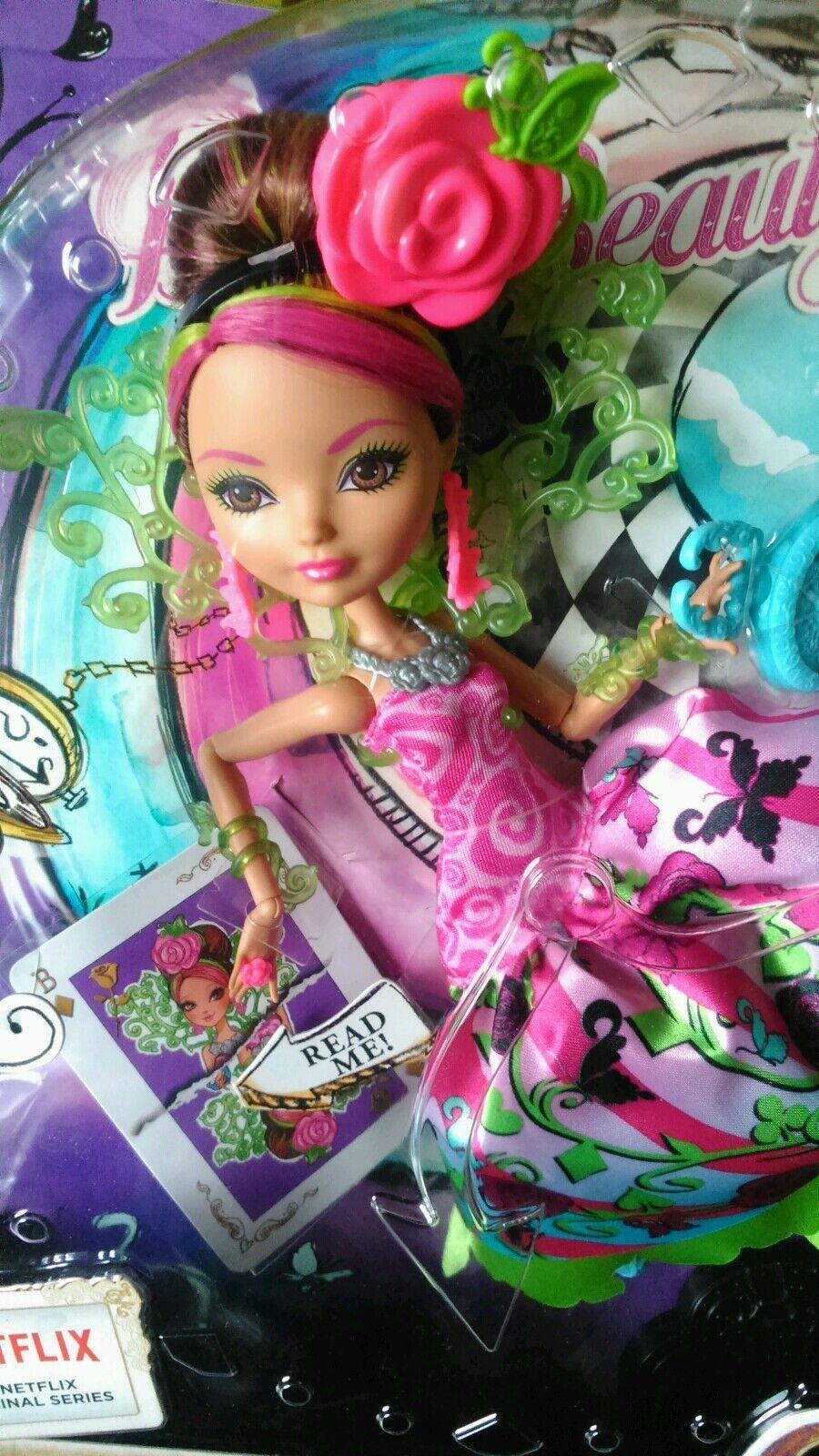 EVER After High-WAY nel paese delle meraviglie BRIAR bellezza bambola NUOVO CON SCATOLA-RARE