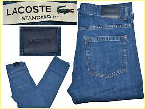 Lacoste Jeans Man 32 33 Eua 48 50 Italia Ate 80 Lc05 Tod2 Ebay