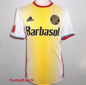 6fa14b55dcb Image is loading COLUMBUS-CREW-Adidas-Official-Away-Shirt-2016-NEW-