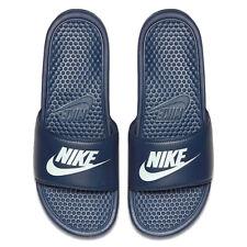 official photos 243a8 8f2d2 item 6 Nike Mens Benassi Sliders Slides Pool Sandals Flip Flops Black -Nike  Mens Benassi Sliders Slides Pool Sandals Flip Flops Black