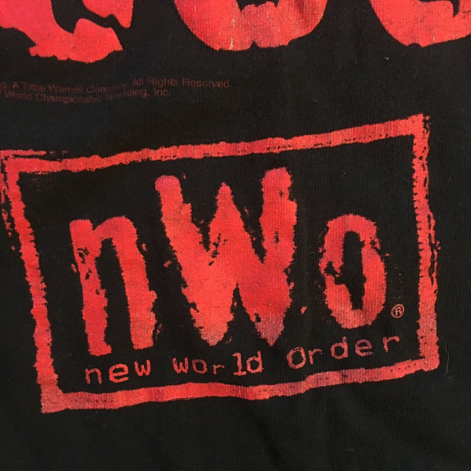 Vintage WWF T Shirt NWO Wrestling The Pac Is In T… - image 4
