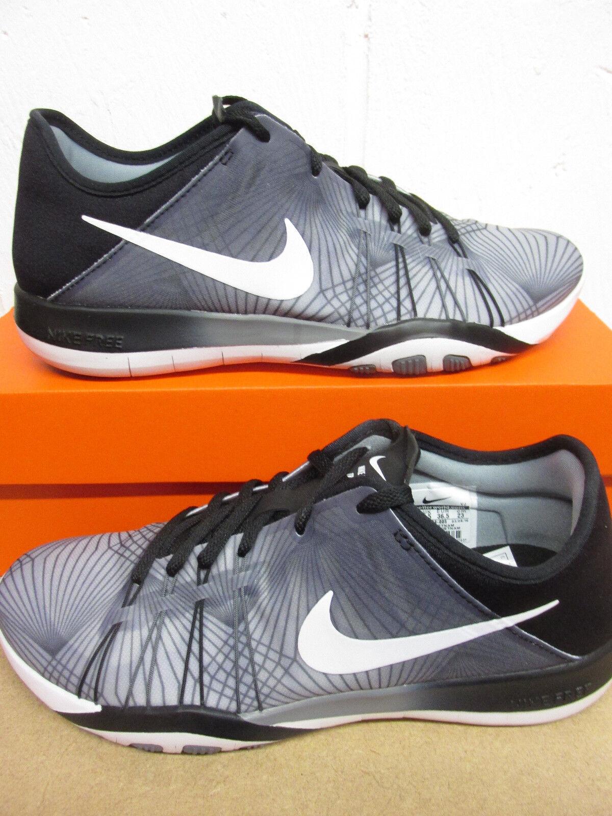 Nike Femmes Gratuit Tr 6 Prt Basket Course 833424 005 Baskets