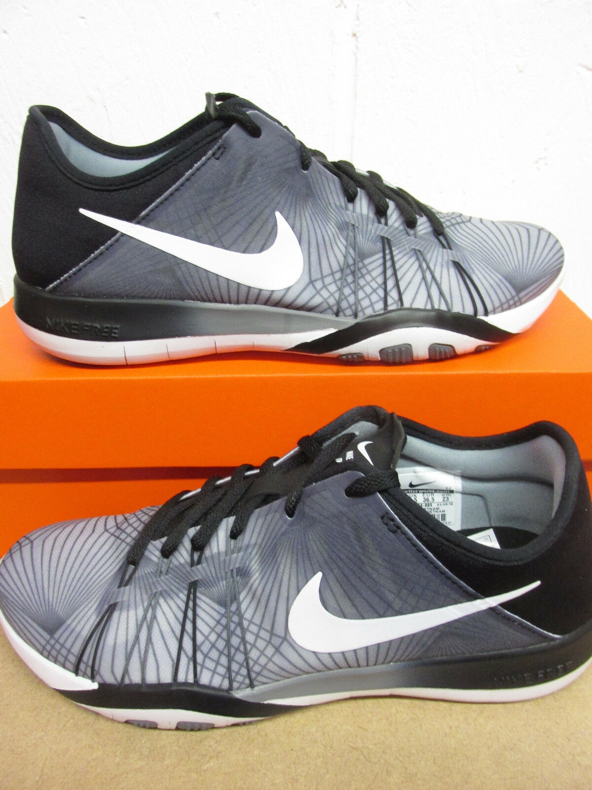 Nike PRT femmes Free TR 6 PRT Nike Running Trainers 833424 005 Baskets Chaussures b2a71c