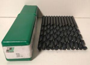 Precision-Jobber-Length-R10-7-32-010014-HSS-Black-Oxide-Drill-Bits-Quantity-12