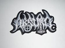 ABSURD BLACK METAL EMBROIDERED PATCH