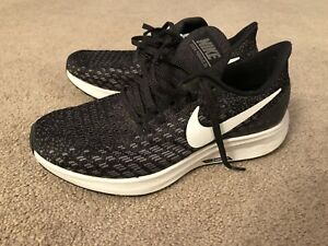 exclusive shoes on sale sports shoes Details about Nike Air Zoom Pegasus 35 FlyEase Black White Women's Sz 7
