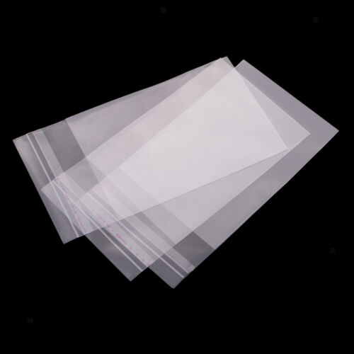 Self Sealing Peel /& Seal OPP Clear Plastic Cellophane Cello Bags 100x 9x13cm