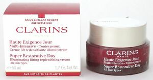 Clarins-Super-Restorative-Day-Cream-All-Skin-Types-1-7-oz-50-ml-New-In-Box