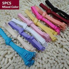 5PCS Mixed Colors Low Backless Bra Strap Adapter Adjustable Bra Extender Hook