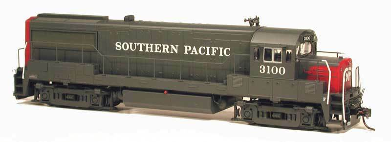 Bowser 23855 HO U25B SP 3100 (Southern Pacific) - Brand New C-10 MINT