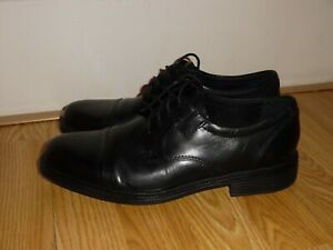 Details about NEW Bostonian Bardwell Limit Men's Sz 8.5 Black Leather Casual Dress Shoes Black