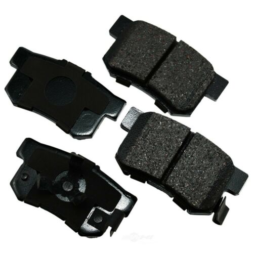 Disc Brake Pad Set-ProACT Ultra Premium Ceramic Pads Rear Akebono ACT1086