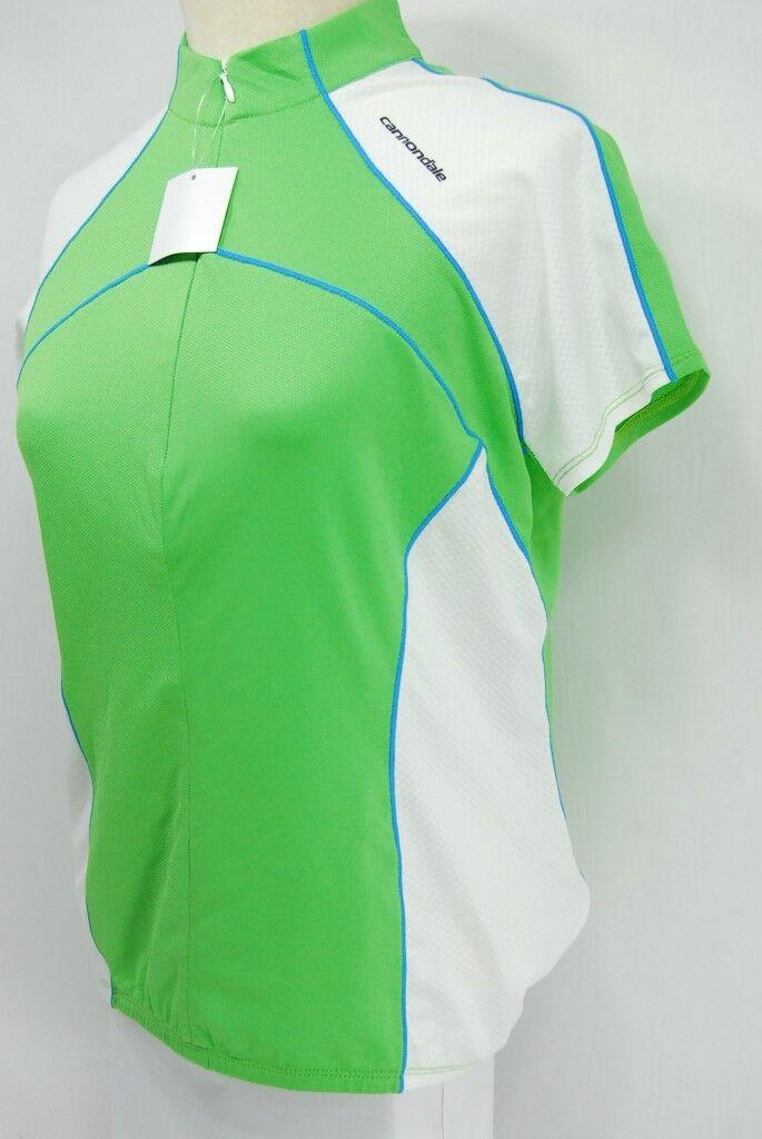 Cannondale para Dama Clásico Jersey -Pequeño- verde - 0f104s   Grh