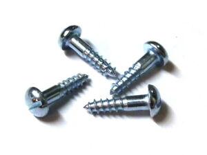 25 Stück Gewindeschrauben Flachkopf Schlitz M8x20 Stahl verzinkt DIN85