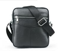 New authentic Leather Bag Shoulder Handbags Men Messenger Bags Small Travel Bags