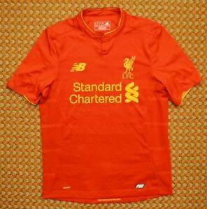 watch 97c84 b045a Details about 2016 - 2017 Liverpool FC, Home Football Shirt by New Balance,  The Reds