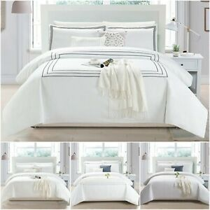 Embroidered-Duvet-Cover-Set-Hotel-Quality-Quilt-Bedding-Single-Double-King-Size