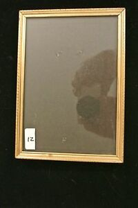 """Periods & Styles Adroit Vintage Retro Picture Metal Frame Great Decor Piece 7"""" By 4-7/8"""" # 12"""